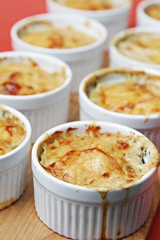 Gratins & bread puddings
