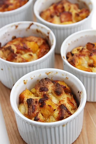 Gratins & bread puddings