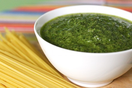 Mint-walnut pesto