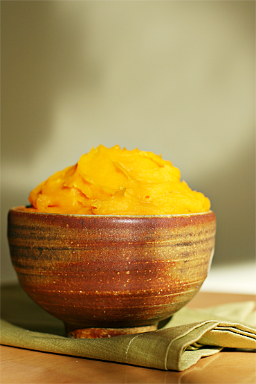 Food and Style - Fresh winter squash purée