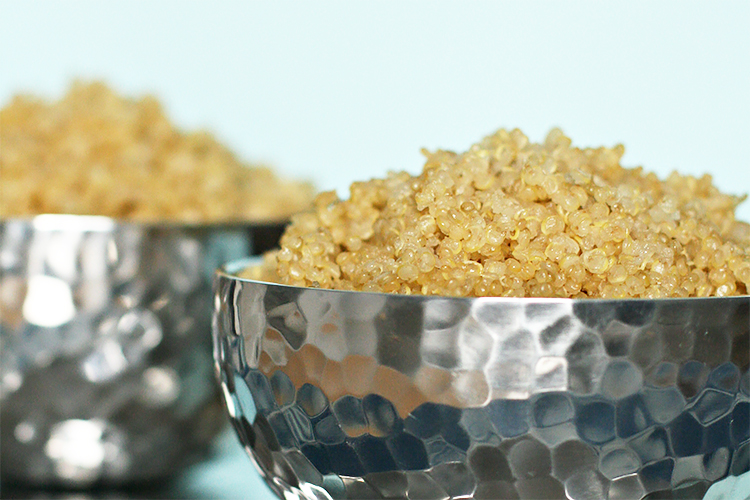 how to cook perfect white quinoa