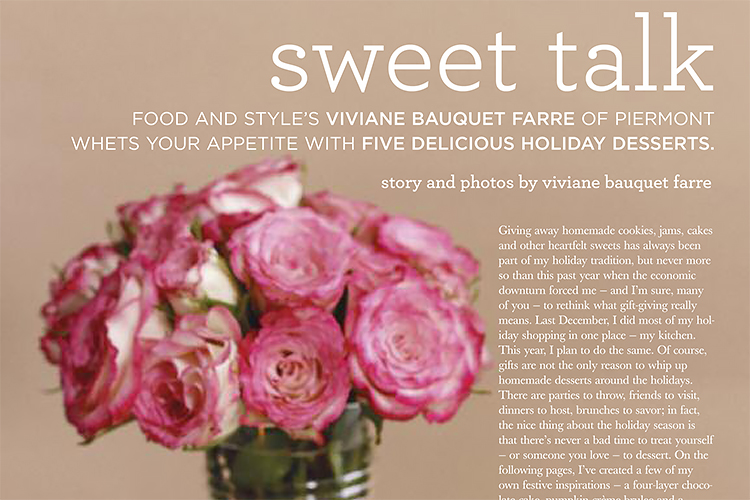 Rockland Magazine - Sweet Talk