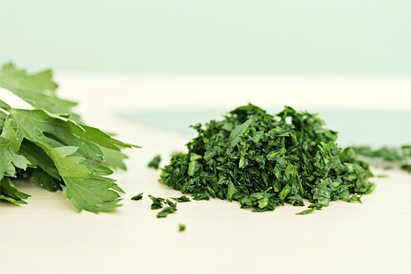 Parsley - finely chopped