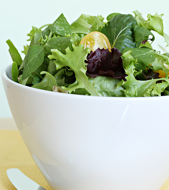 Everyday leafy green salad