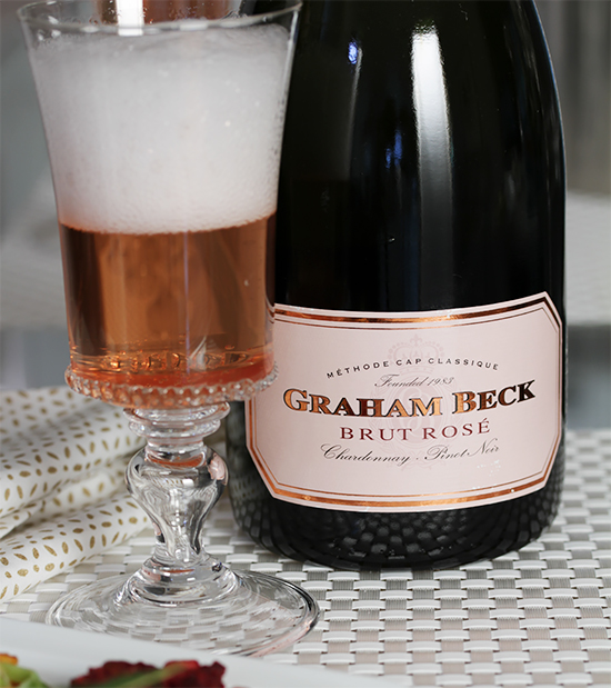 Graham Beck, Brut Rosé NV