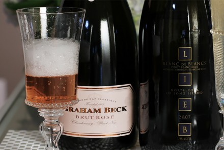Pairing latkes with two stunning sparkling wines