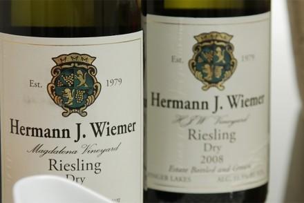 Hermann J. Wiemer HJW and Magdalena Vineyard dry Rieslings