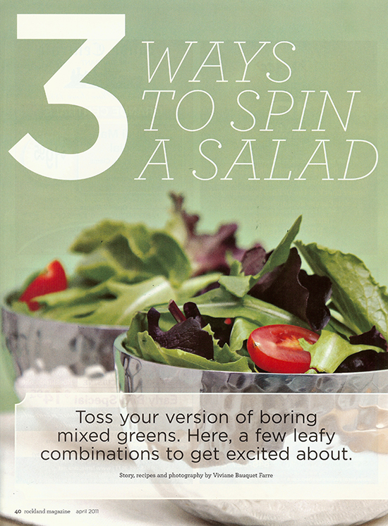 3 Ways to Spin a Salad