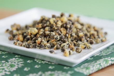 Fried capers