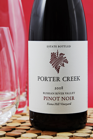 Porter Creek 2008 Fiona Hill Vineyard Pinot Noir