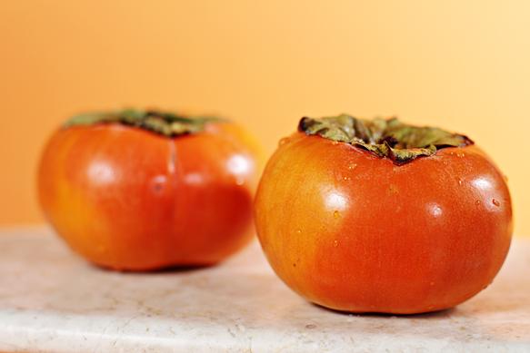 Fuyu persimmons