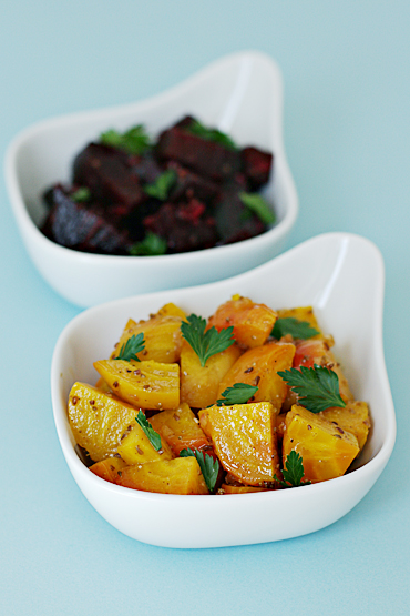 Golden and Red Beet Salad with Anise Vinaigrette