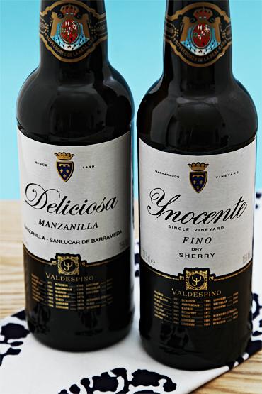 Bodegas Valdespino Inocente Fino Sherry and Deliciosa Manzanilla