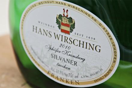 Hans Wirsching - Iphofer Kronsberg Silvaner 2010