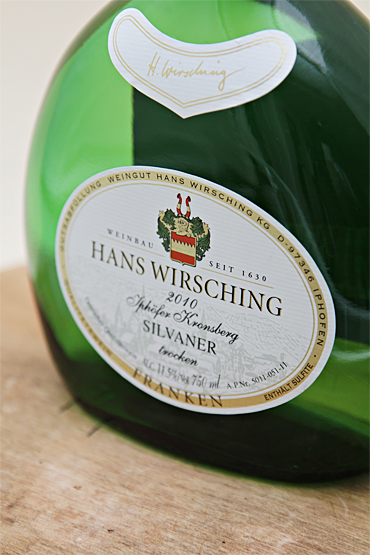 Food and Style -  Hans Wirsching Iphofer Kronsberg Silvaner 2010