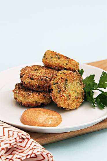 Quinoa and Scallion Croquettes