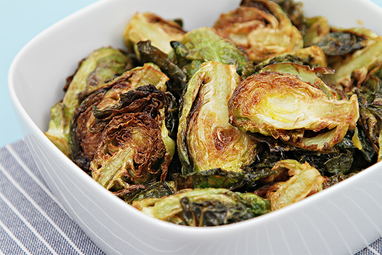 Flash Fried Brussels Sprouts With Garlic And Lime Food