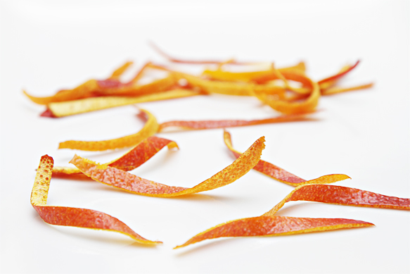 Blood orange twists