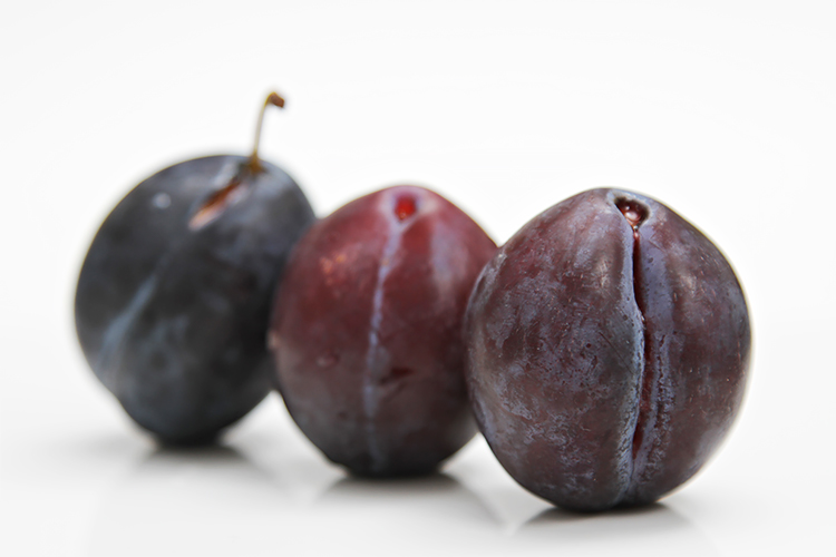 Italian prune plums - Empress plums