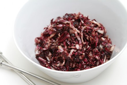 Wilted radicchio with Vincotto