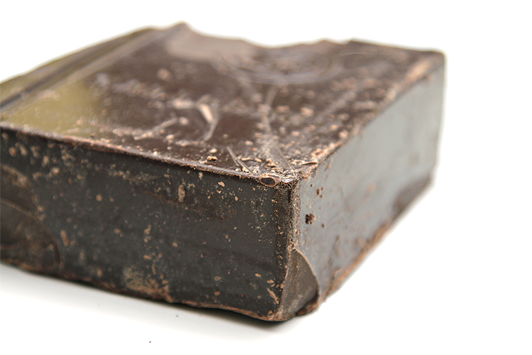 Semisweet chocolate blocks