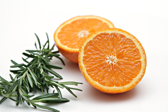 Page mandarin and rosemary