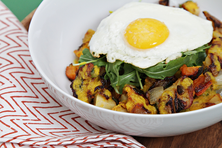 Root veggie hash eggs with turmeric sauce food style root vegetable hash browns with fresh turmeric sauce and fried eggs forumfinder Image collections