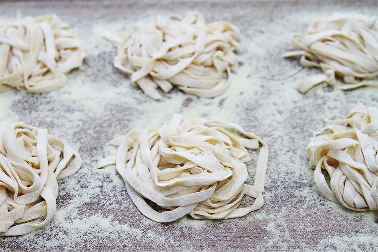 Hand rolled pasta dough recipe