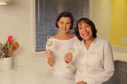 Didi Conn & Viviane Bauquet Farre